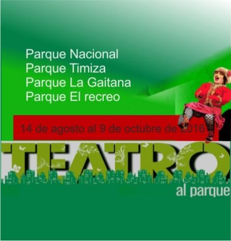 TEATRO AL PARQUE - 2016