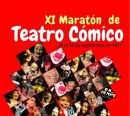 XI MARATÓN DE TEATRO CÓMICO 2017