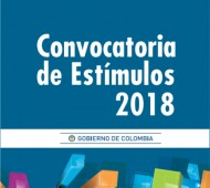 CONVOCATORIA DE ESTÍMULOS MINCULTURA 2018
